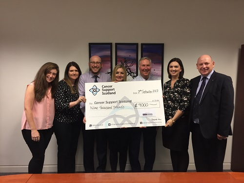 Dallas McMillan Solicitors Race Night Raises £9,000 for Cancer Support Scotland